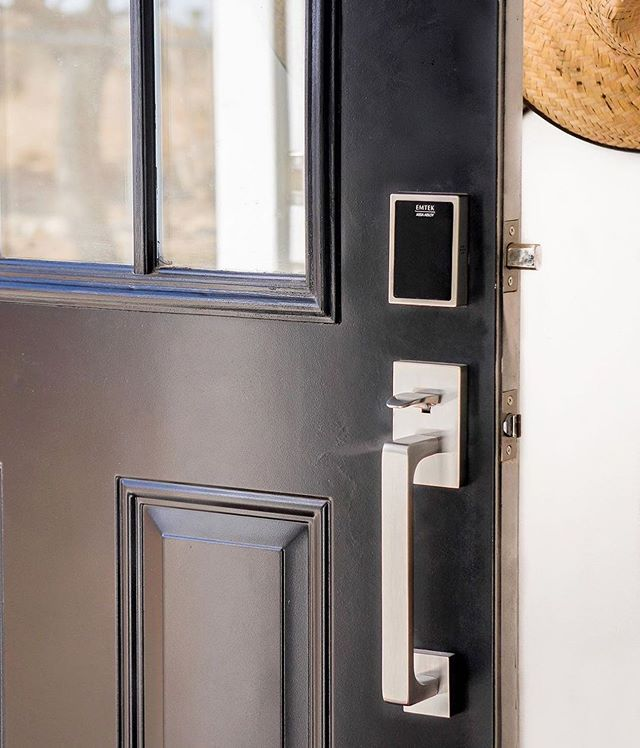 keyed door pad entry