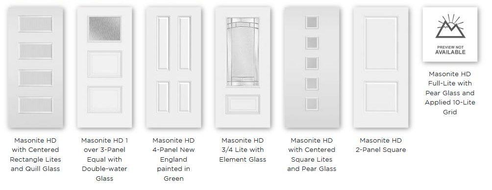 Masonite HD Steel Exterior Doors Big Bear